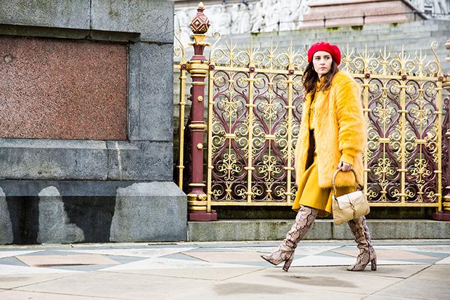 Неделя моды в Лондоне, осень-зима 2016: street style. Часть 2 (фото 16)