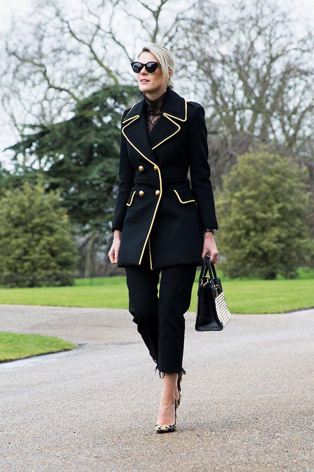 Неделя моды в Лондоне, осень-зима 2016: street style. Часть 2 (фото 22)