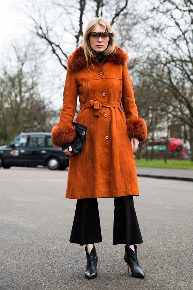 Неделя моды в Лондоне, осень-зима 2016: street style. Часть 2 (фото 5)