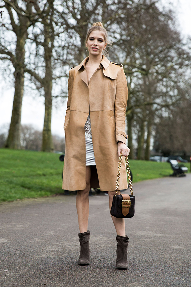 Неделя моды в Лондоне, осень-зима 2016: street style. Часть 2 (фото 1)