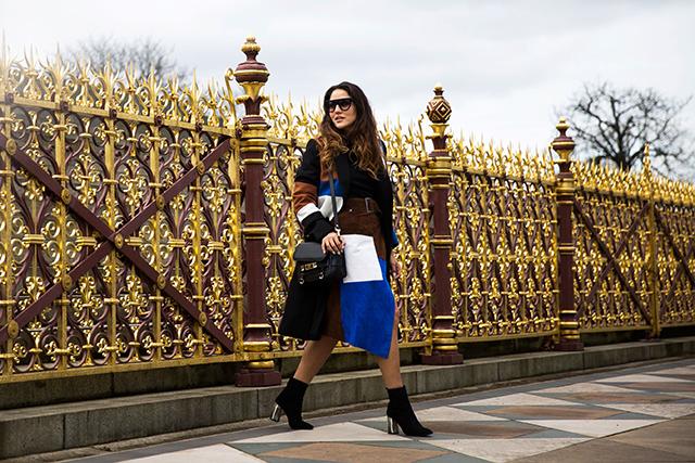 Неделя моды в Лондоне, осень-зима 2016: street style. Часть 2 (фото 10)