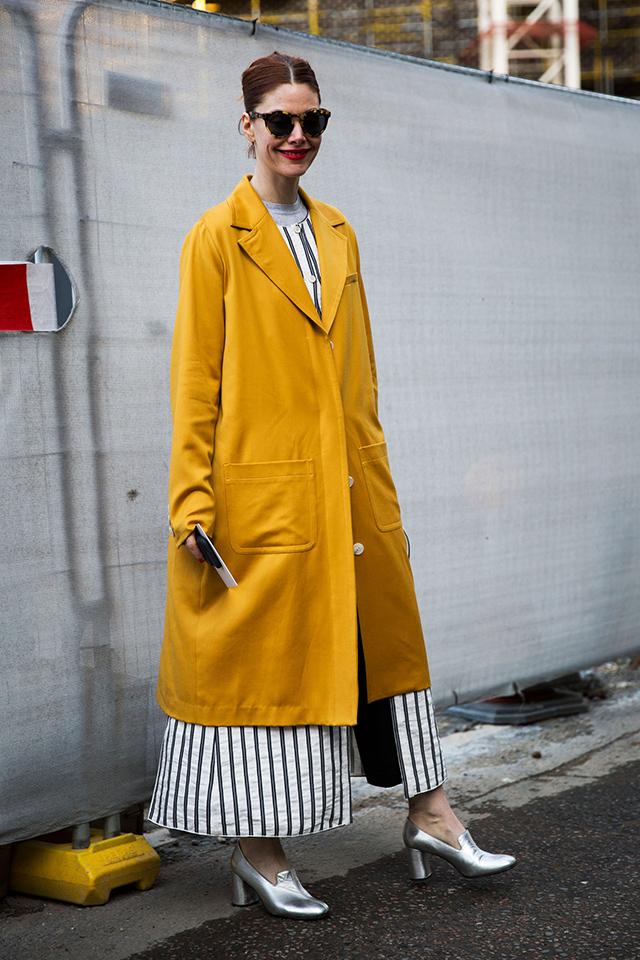 Неделя моды в Лондоне, осень-зима 2016: street style. Часть 2 (фото 11)