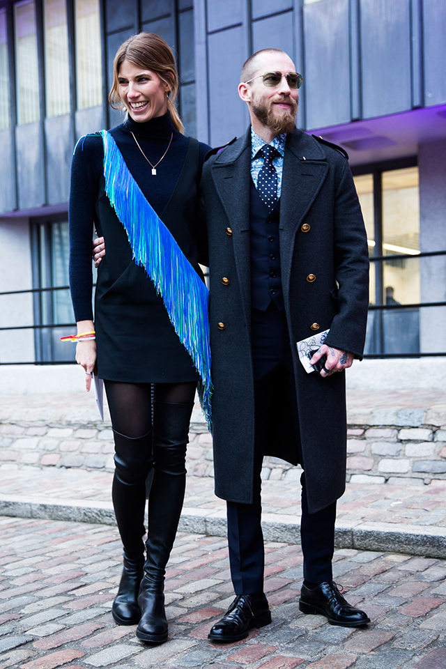 Неделя моды в Лондоне, осень-зима 2016: street style. Часть 2 (фото 14)