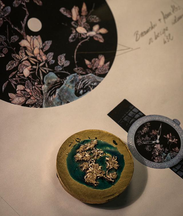 Как появляются на свет часы Chanel Mademoiselle Privé Coromandel or sculpté (фото 1)