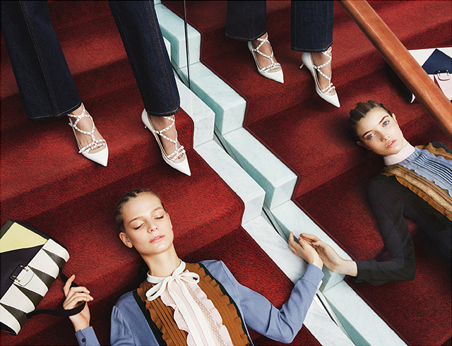 The advertising campaign Valentino, pre-fall 2015 (photo 2)
