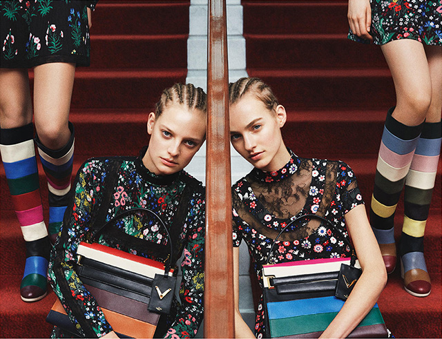 The advertising campaign Valentino, pre-fall 2015 (photo 1)