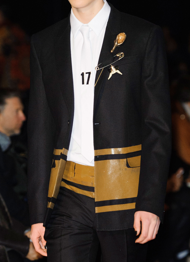 Overview of Buro 24/7: men's collection Givenchy, autumn-winter 2015 (photo 1)