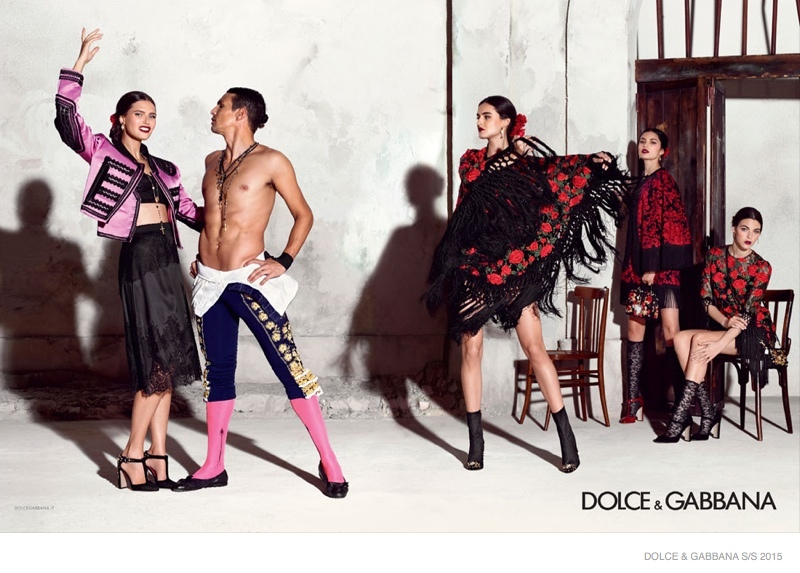 Advertising Campaign Dolce & Gabbana, spring-summer 2015 (photo 6)