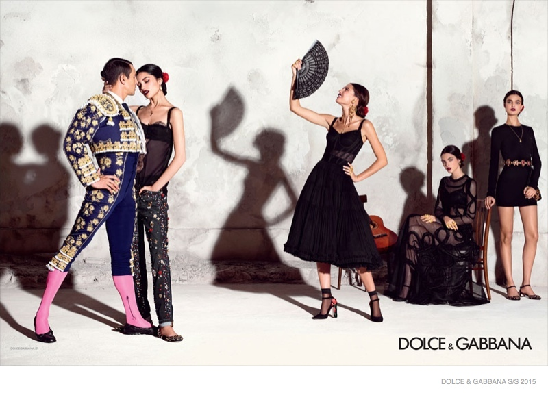 Advertising Campaign Dolce & Gabbana, spring-summer 2015 (photo 7)