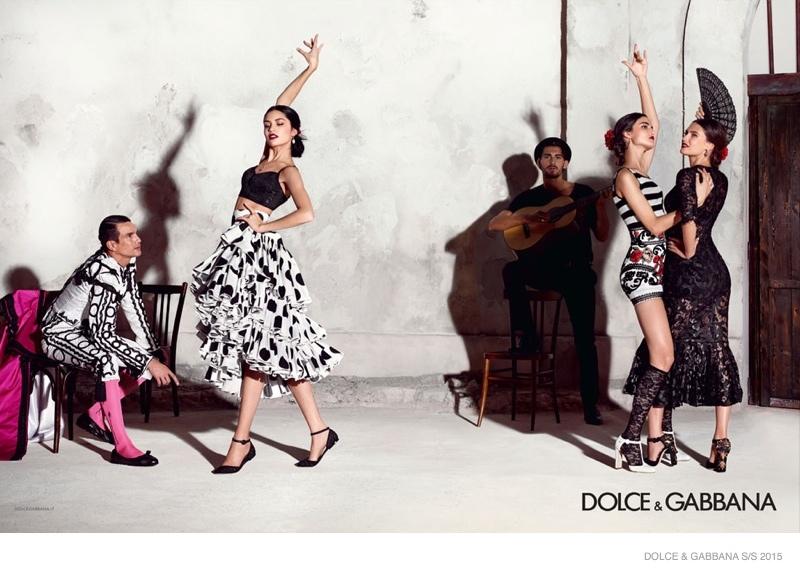 Advertising Campaign Dolce & Gabbana, spring-summer 2015 (10 photos)