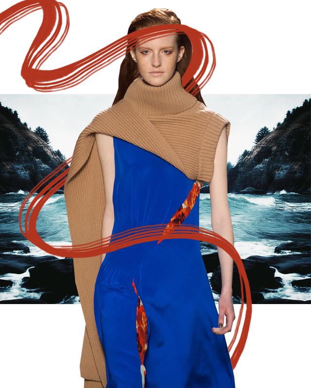 На заметку: свитер в качестве шарфа (фото 5)