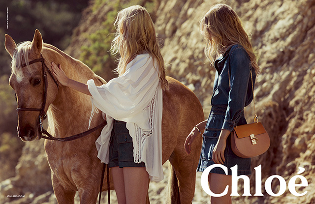 Advertising campaign Chloé, Spring-Summer 2015 (photo 3)