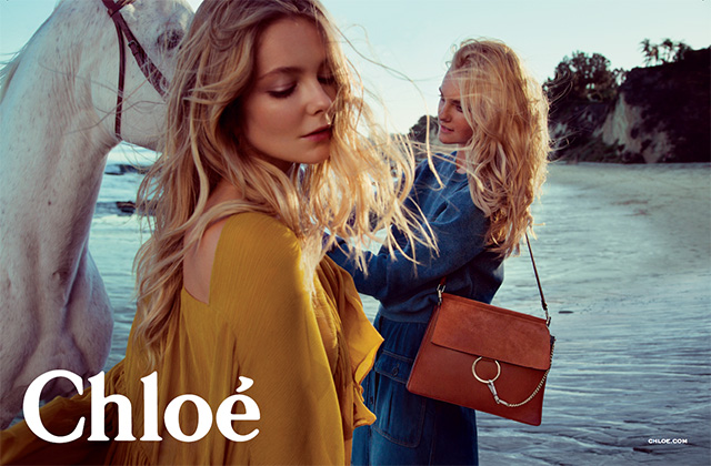 Advertising campaign Chloé, Spring-Summer 2015 (photo 1)