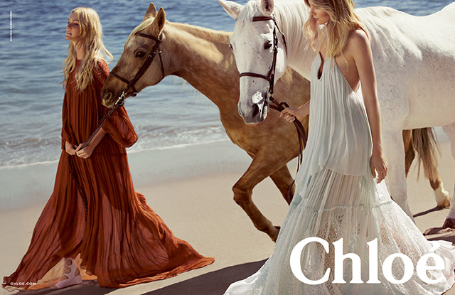 Advertising campaign Chloé, Spring-Summer 2015 (photo 2)