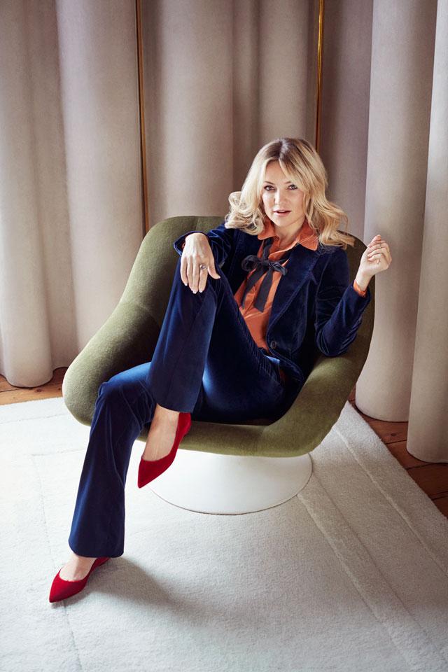 Кейт Хадсон в рекламной кампании Jimmy Choo (фото 1)