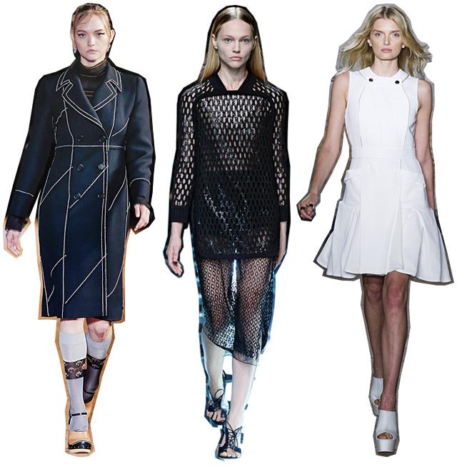 Итоги недель моды весна-лето 2015: модели (фото 1)