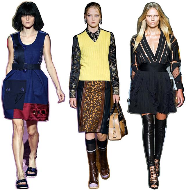 Итоги недель моды весна-лето 2015: модели (фото 2)