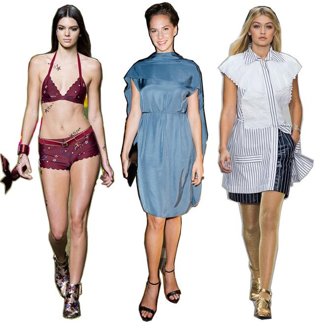 Итоги недель моды весна-лето 2015: модели (фото 3)