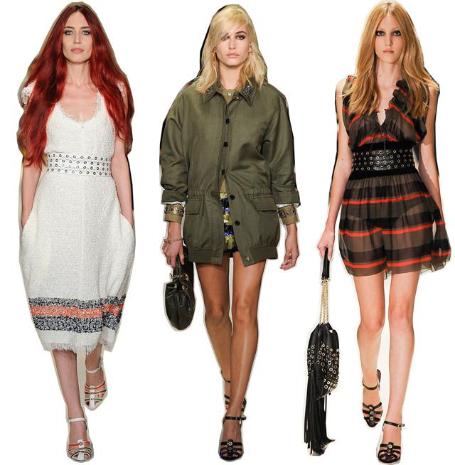 Итоги недель моды весна-лето 2015: модели (фото 4)