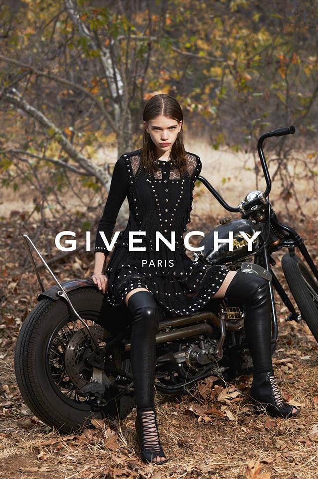Модели в рекламной кампании Givenchy, весна-лето 2015 (фото 2)