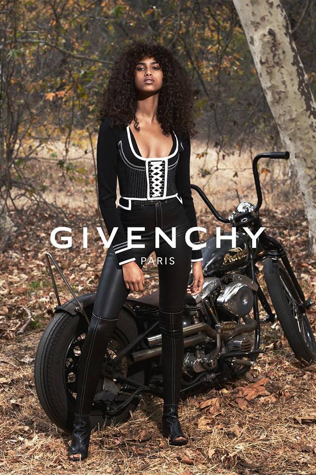Модели в рекламной кампании Givenchy, весна-лето 2015 (фото 1)