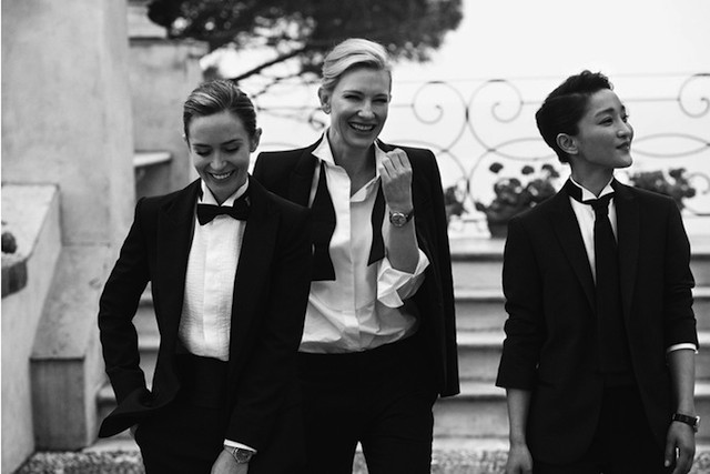 Cate Blanchett, Ewan McGregor, and others in the campaign IWC (photo 3)