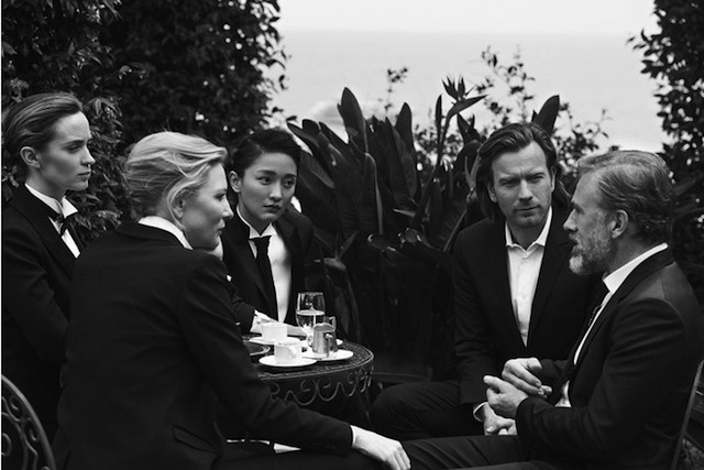 Cate Blanchett, Ewan McGregor, and others in the campaign IWC (5 photos)