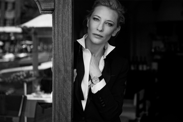 Cate Blanchett, Ewan McGregor, and others in the campaign IWC (photo 1)