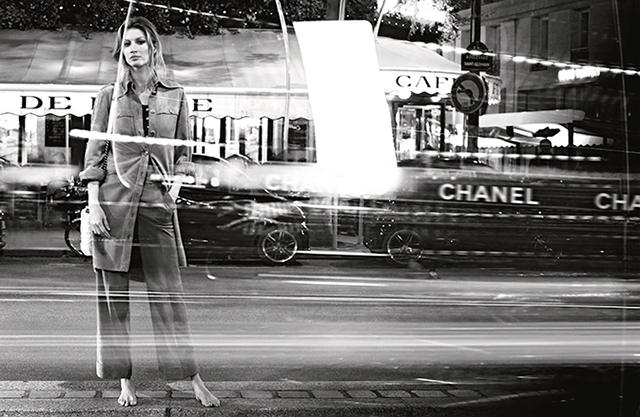 Жизель Бундхен в рекламной кампании Chanel (фото 4)