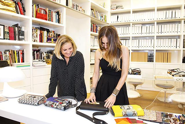 Сара Джессика Паркер и Рианна в благотворительном проекте Fendi (фото 1)