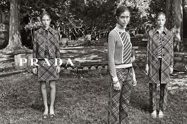 Advertising Campaign Prada, resort 2015 (photo 2)