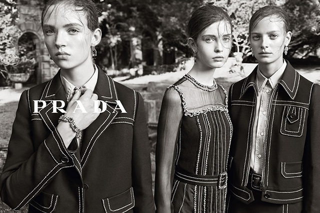 Advertising Campaign Prada, resort 2015 (photo 1)