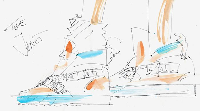 Дизайн кроссовок