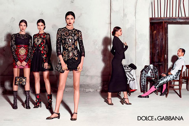 Advertising Campaign Dolce & Gabbana, spring-summer 2015 (photo 1)