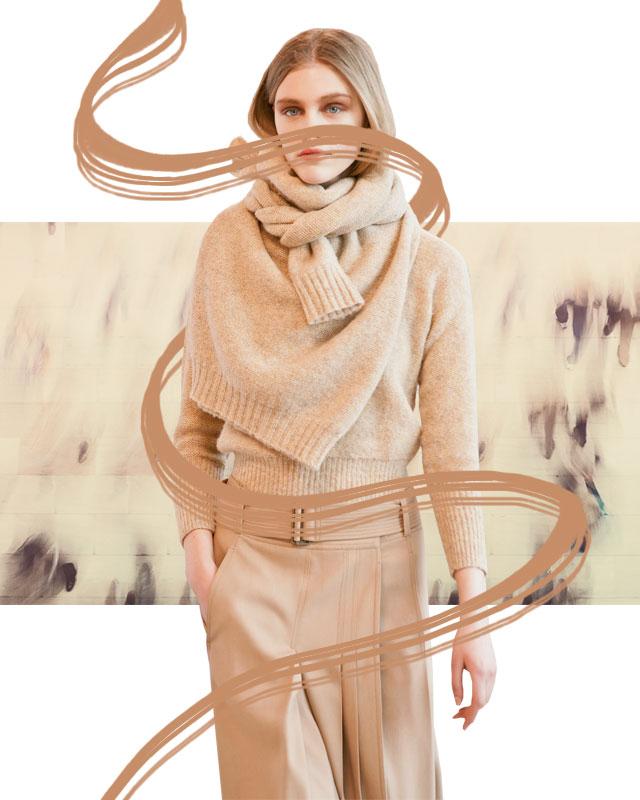 На заметку: свитер в качестве шарфа (фото 1)
