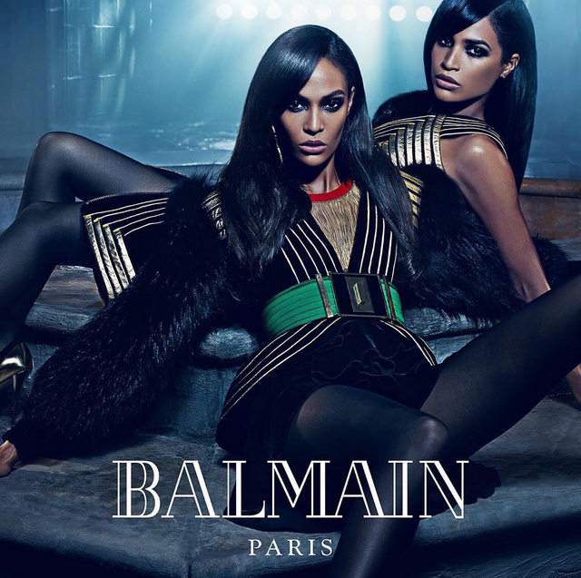 Sisters in a new campaign Balmain (Photo 1)