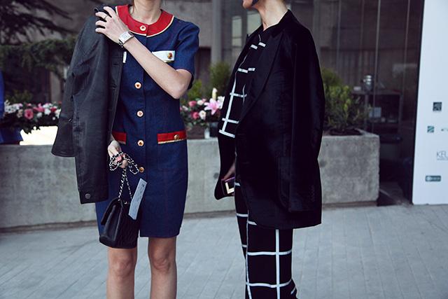 Tbilisi Fashion Week, осень-зима 2015: street style (фото 7)