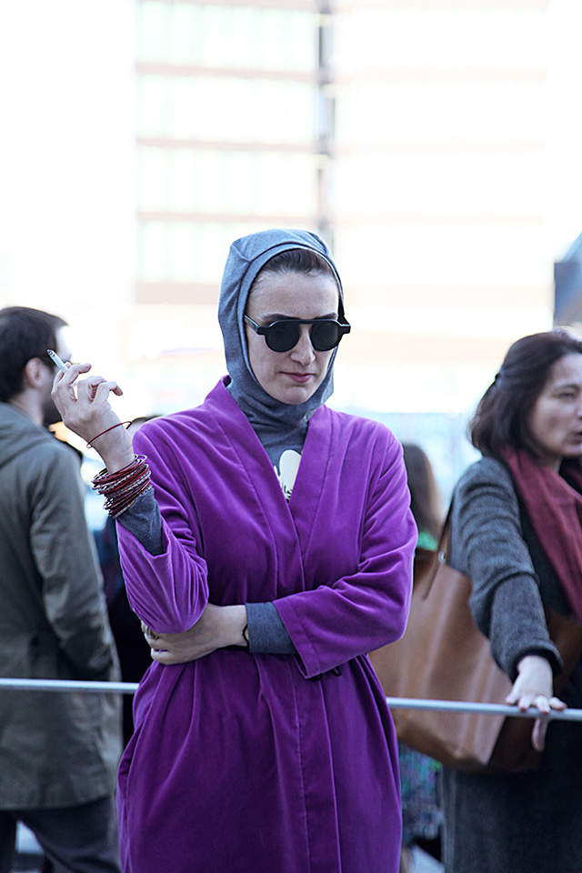 Tbilisi Fashion Week, осень-зима 2015: street style (фото 6)