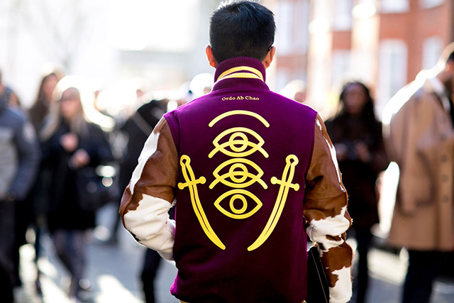 London Fashion Week A / I 2015: street style.  Terzo giorno (9 foto)