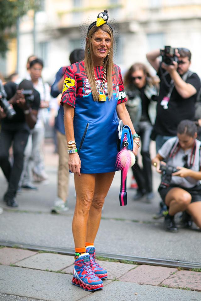 Milan Fashion Week S / S 2015: street style.  Part I (photo 1)