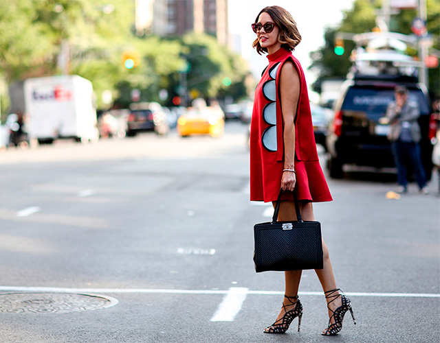 Fashion Week di New York / S 2015 S: street style.  Parte I (14 foto)
