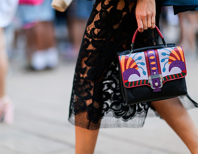 Fashion Week di New York / S 2015 S: street style.  Parte I (12 foto)