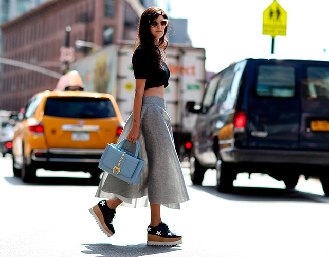 Fashion Week di New York / S 2015 S: street style.  Parte I (8 foto)