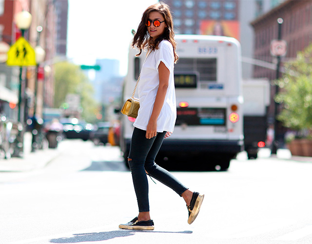 Fashion Week di New York / S 2015 S: street style.  Parte I (foto 4)