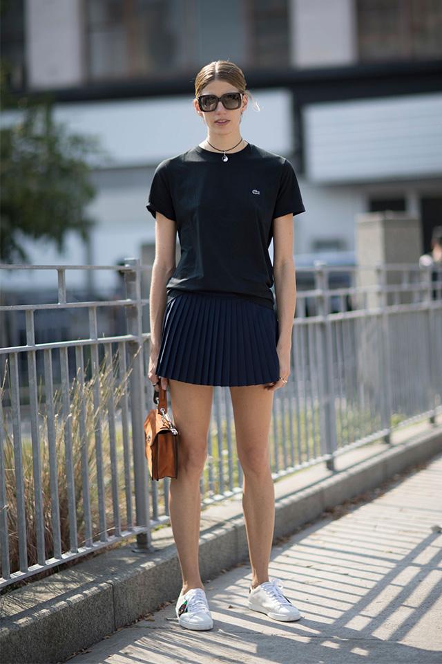 Что носят на Неделе моды в Нью-Йорке: 2 часть (фото 1)