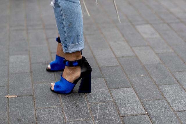 Что носят на Неделе моды в Нью-Йорке: 2 часть (фото 9)