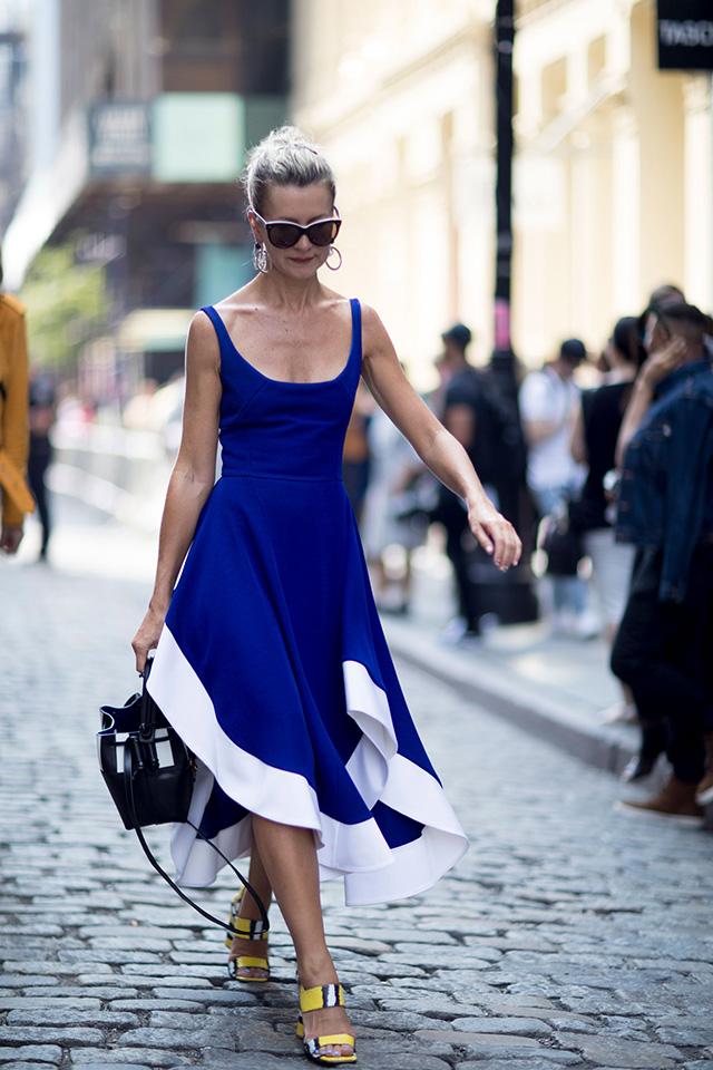 Что носят на Неделе моды в Нью-Йорке: 2 часть (фото 8)