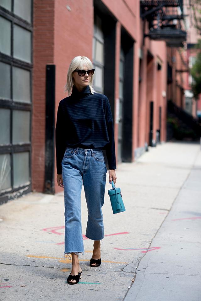 Что носят на Неделе моды в Нью-Йорке: 2 часть (фото 10)