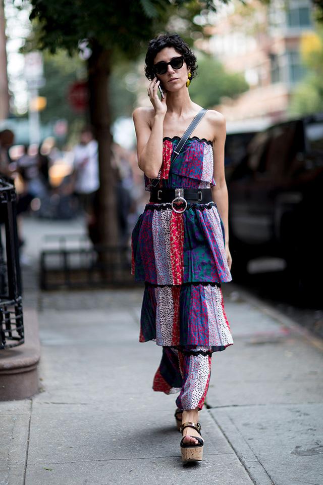 Что носят на Неделе моды в Нью-Йорке: 2 часть (фото 12)