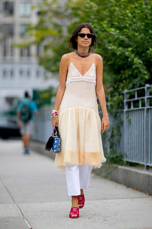 Что носят на Неделе моды в Нью-Йорке: 2 часть (фото 14)